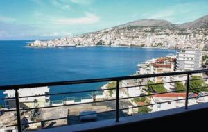 Apartment Sarande with Sea View 13